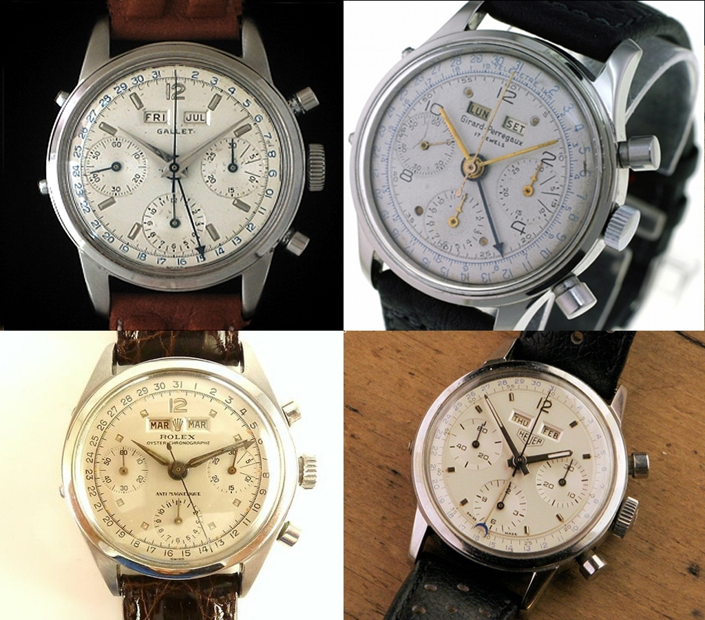 Triple Calendar Valjoux 72C Chronographsome Pics - The