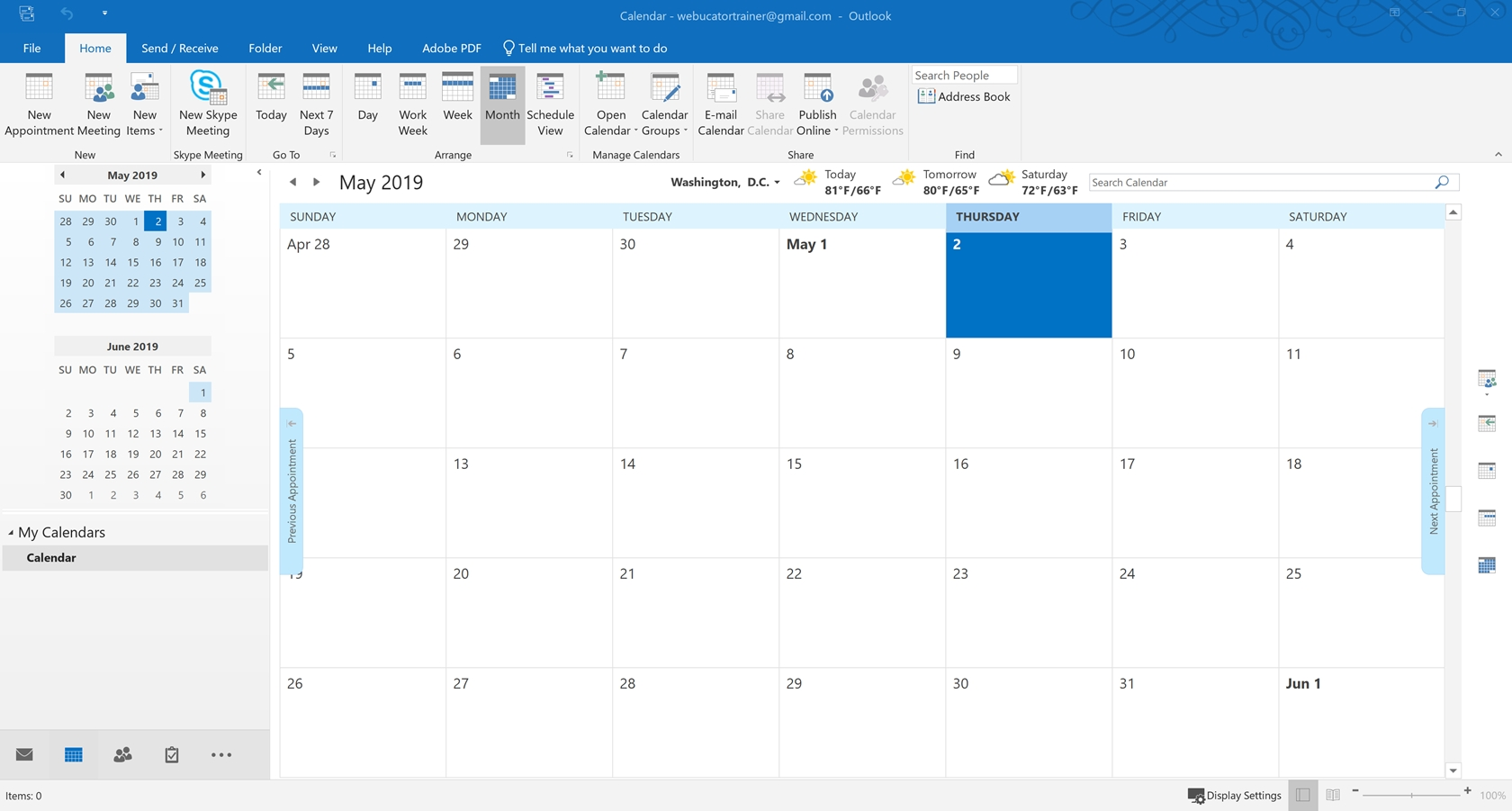 Tutorial: Working With The Calendar | Introduction To