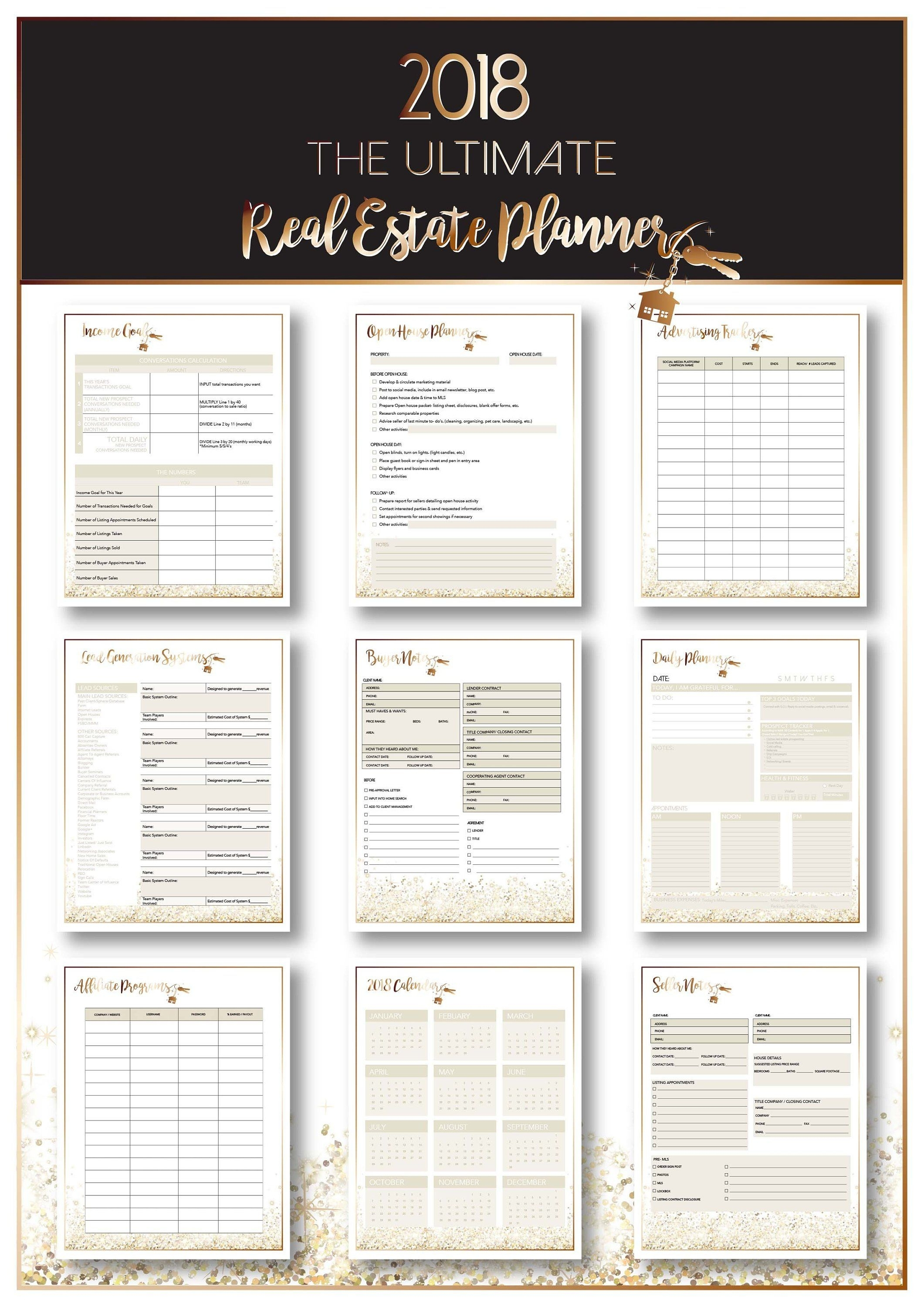 Ultimate 2020 Real Estate Business Planner - Instant Digital