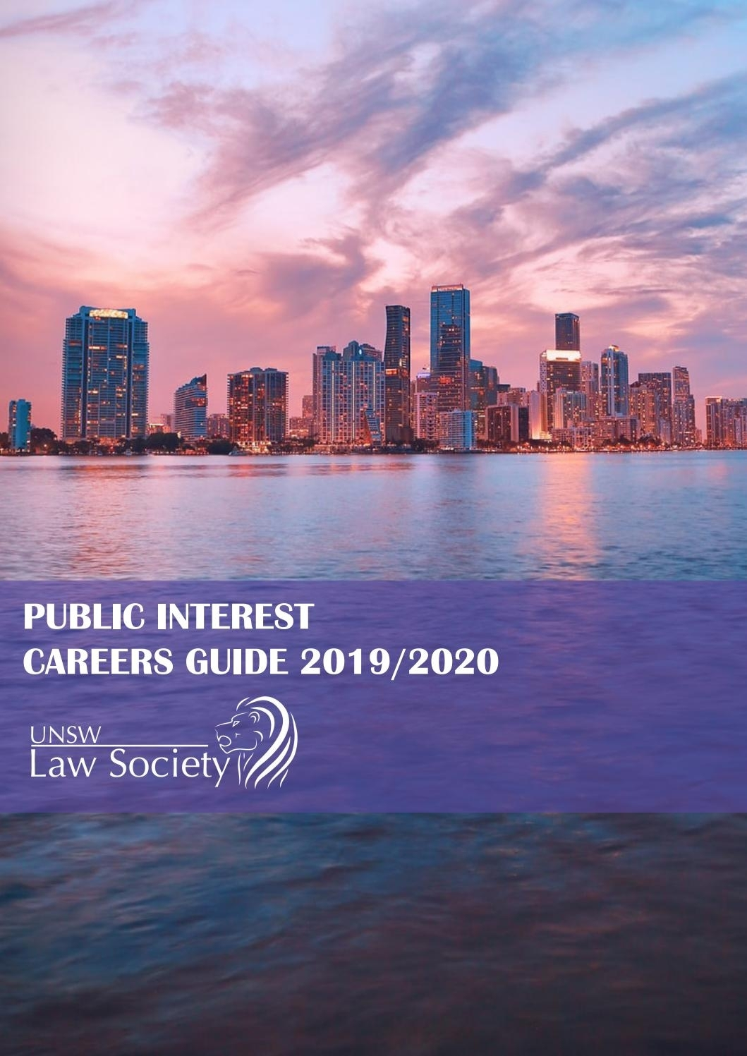 Unsw Law Society Public Interest Careers Guide 2019/2020