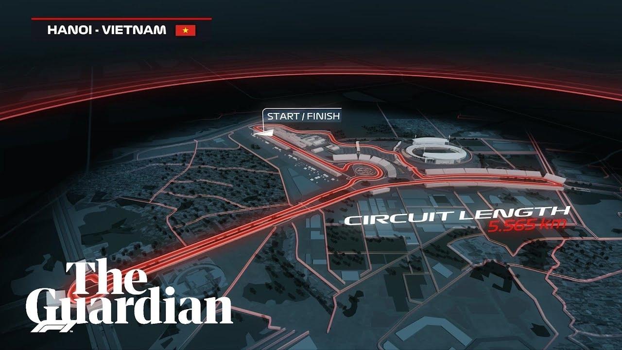 Vietnam Gp: F1 Reveals Track Map For Hanoi Street Race In 2020 – Video