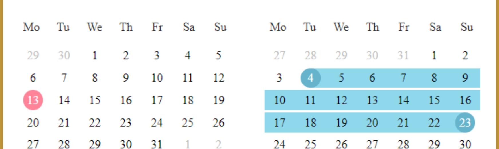 Vue Functional Calendar — Modern Calendar In Your Projects.