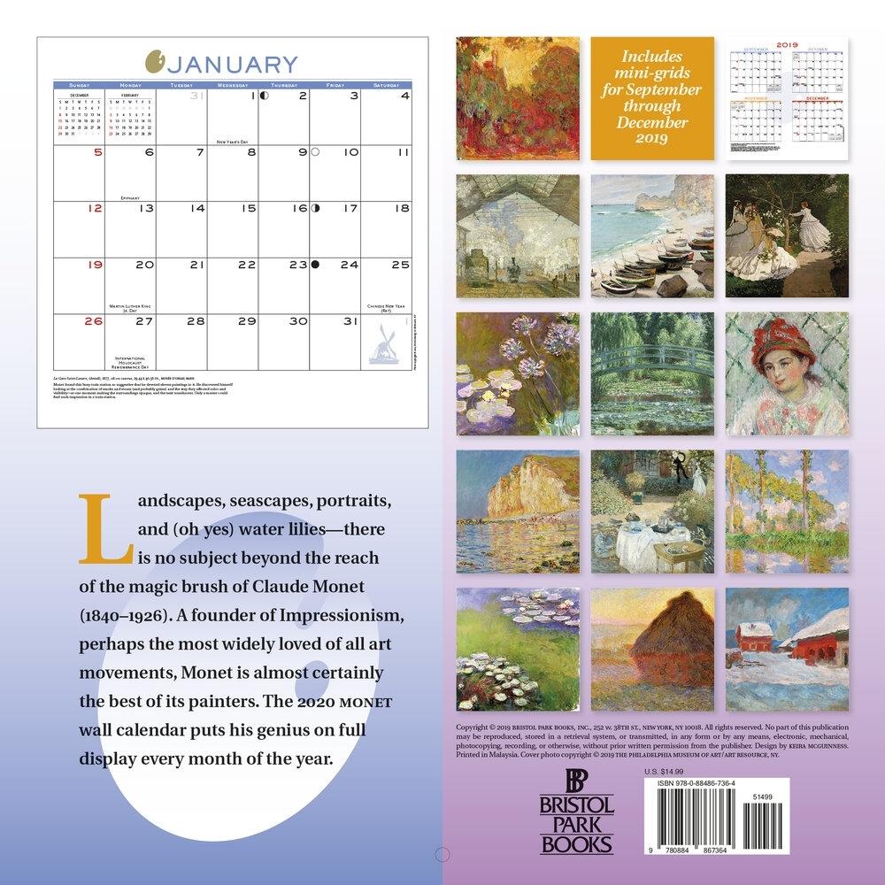 Wall Calendars — Bristol Park Books