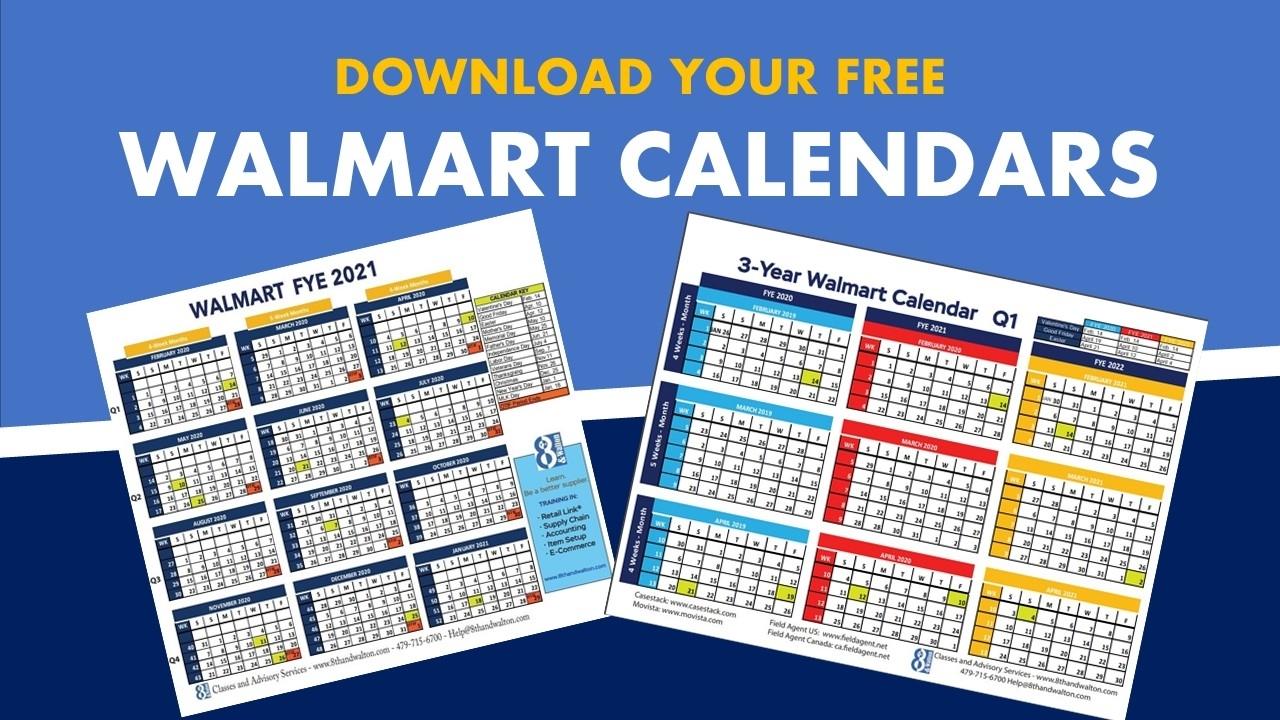 Walmart Fiscal Year Calendar | 2019-2020 | Free Download