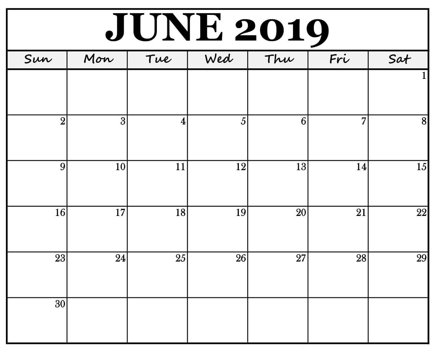 Waterproof June 2019 Calendar Wallpaper For Desktop Iphone