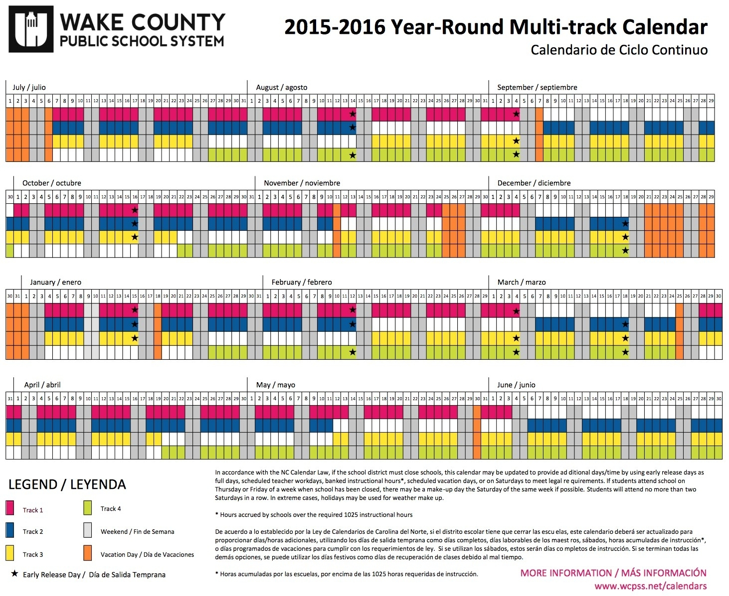 Wcpss Calendar 2020 | Free Printable Calendar