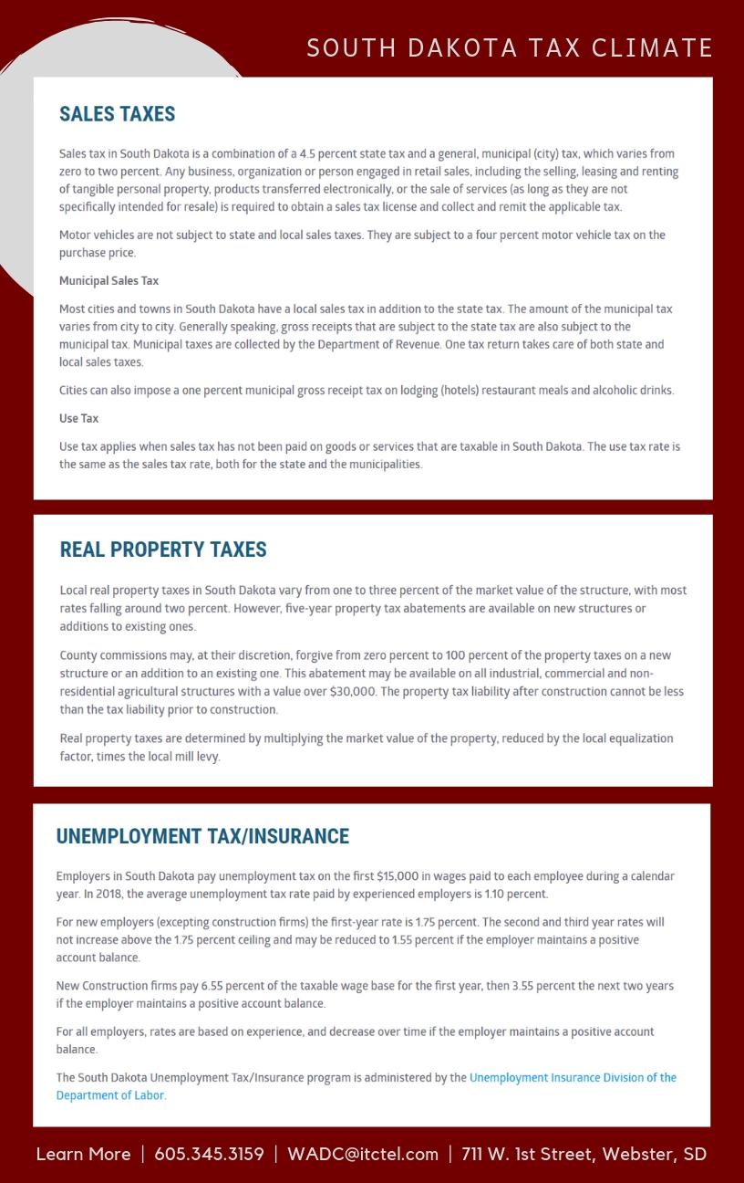 Webster Area Development Corporation: Financing & Incentives