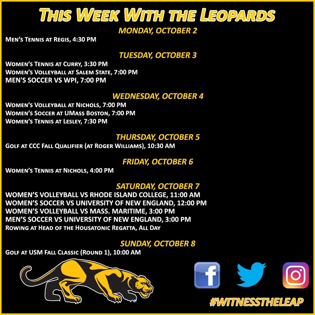"""Wentworth Leopards On Twitter: """"the Calendar Has Turned To"""