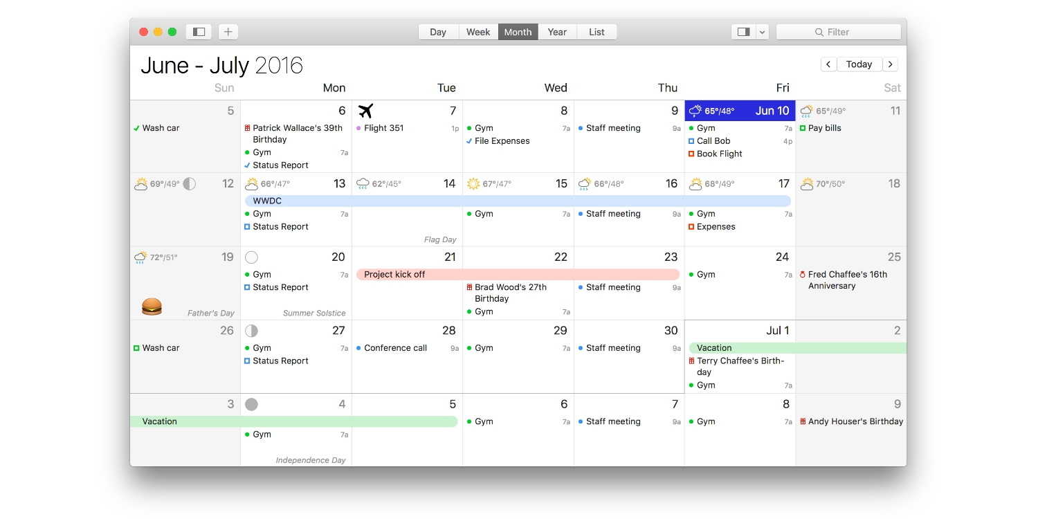 What's The Best Calendar App For The Mac? - 9To5Mac