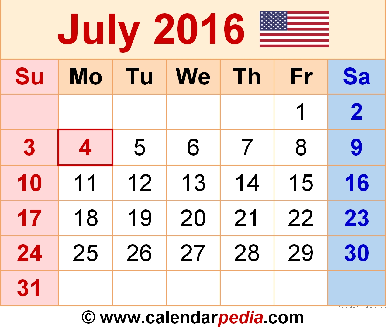 Year 2016 Calendar - Time Date , Other Calendars