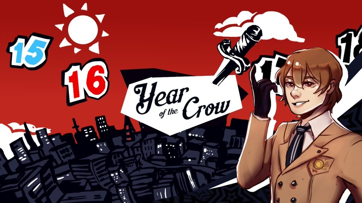 Year Of The Crow - A Persona 5 Calendar Project On Twitter