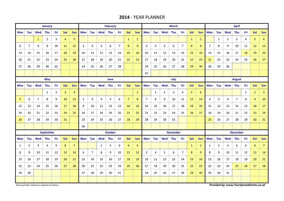 Year Planner