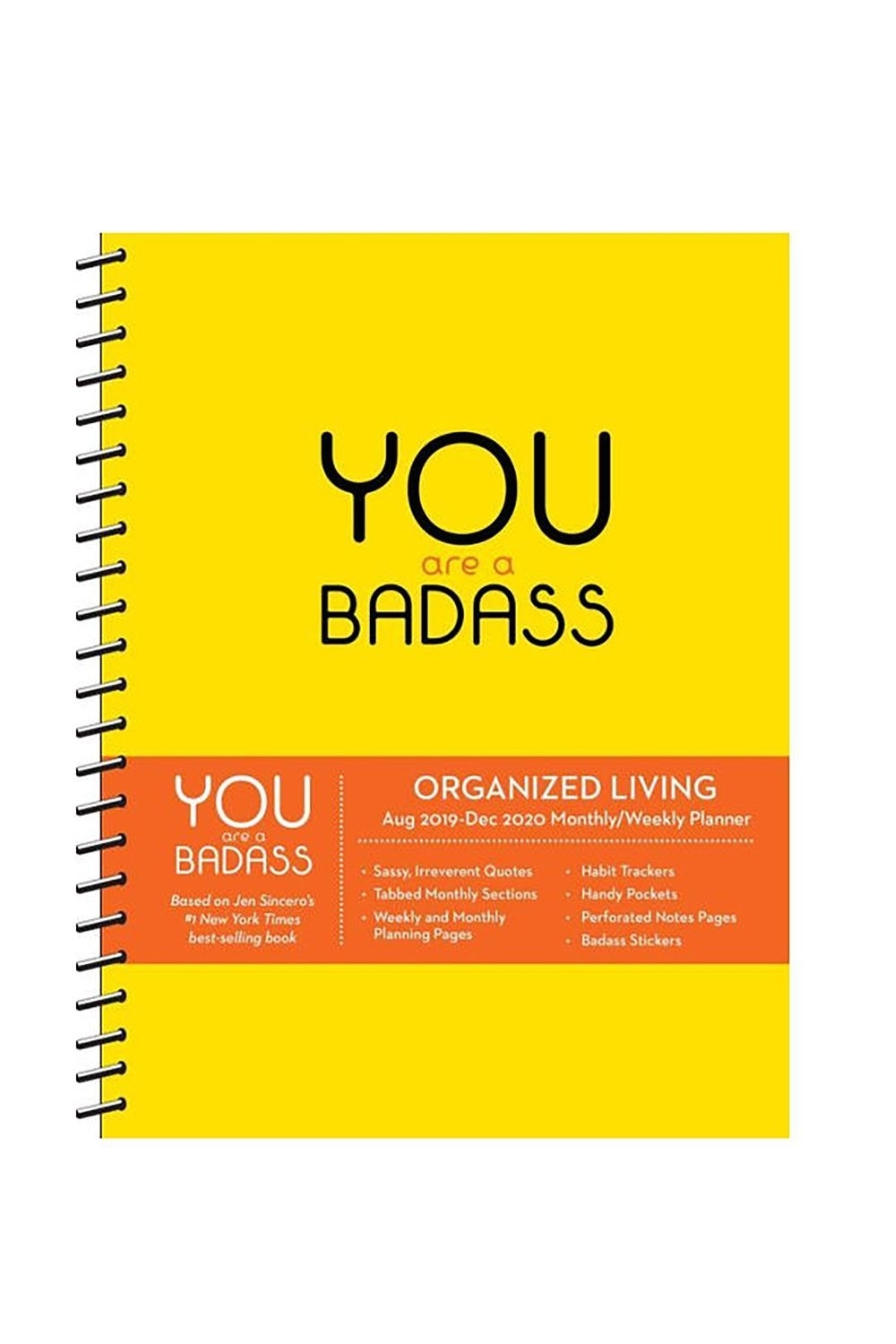 You Are A Badass 2020 Day-To-Day Calendar