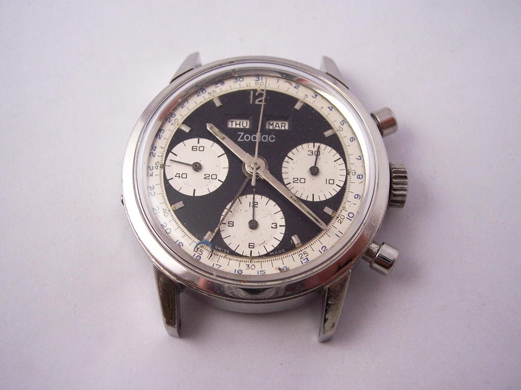 Zodiac Chronograph (Valjoux Cal. 72C/723)… | The Watch Spot