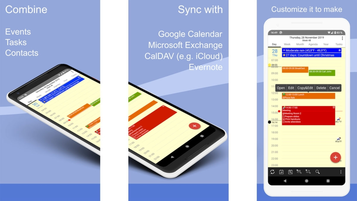 10 Best Calendar Apps For Android! - Android Authority
