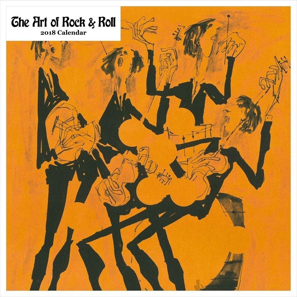 2020 Art Of Rock And Roll Wall Calendar,retrospect Group
