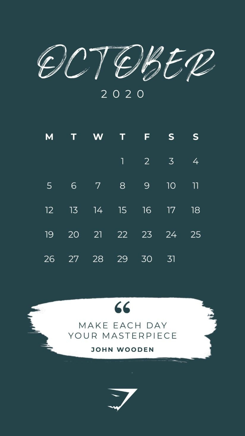 50 Free Printable October 2020 Calendars With Holidays Trong