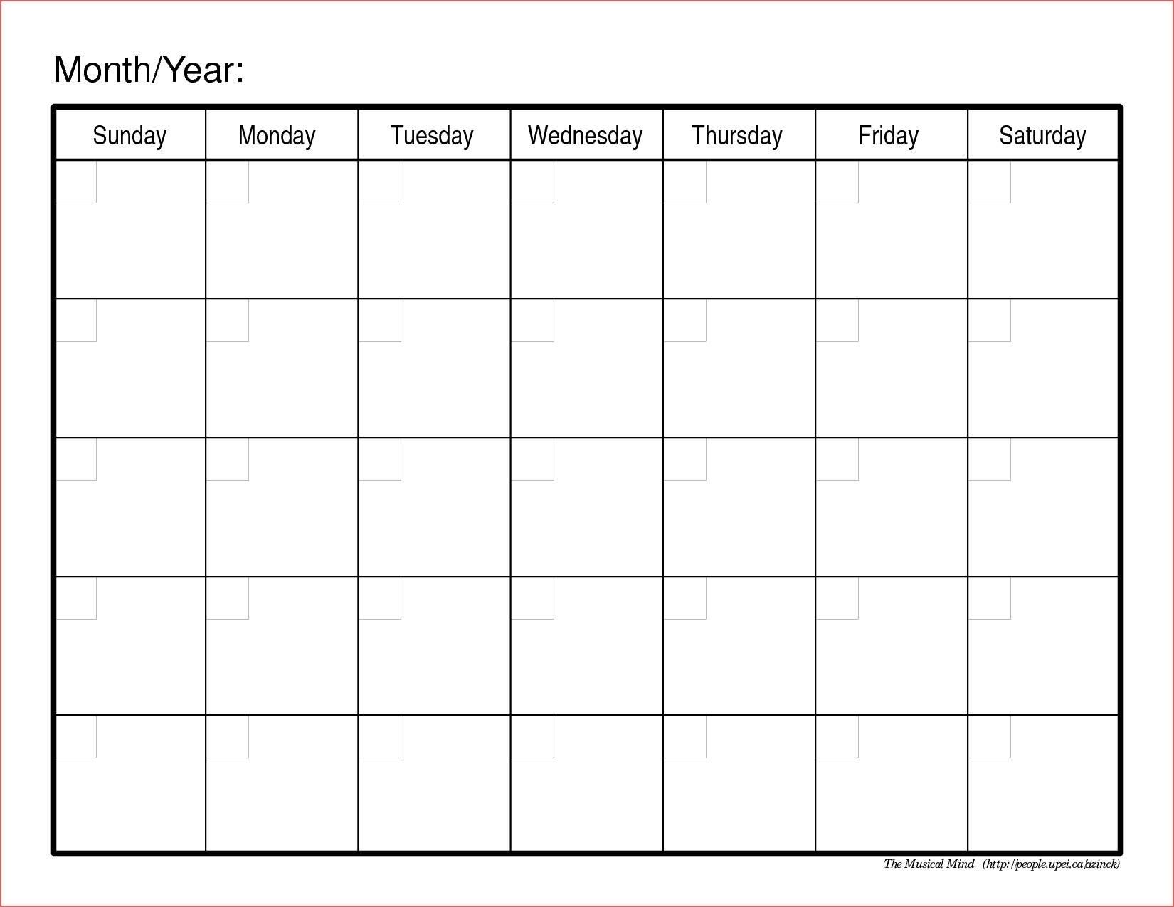 6 Week Countdown Calendar | One Page Calendar Printable-6
