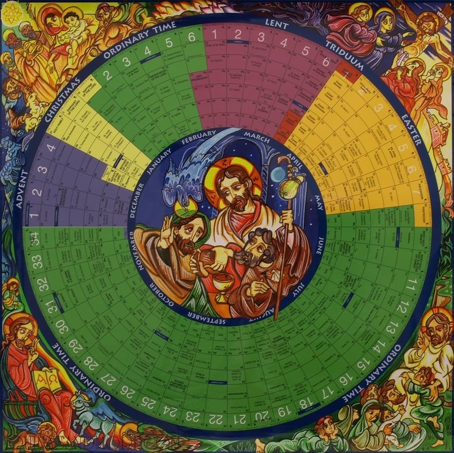 About The Liturgical Calendar   The National Shrine Of Saint