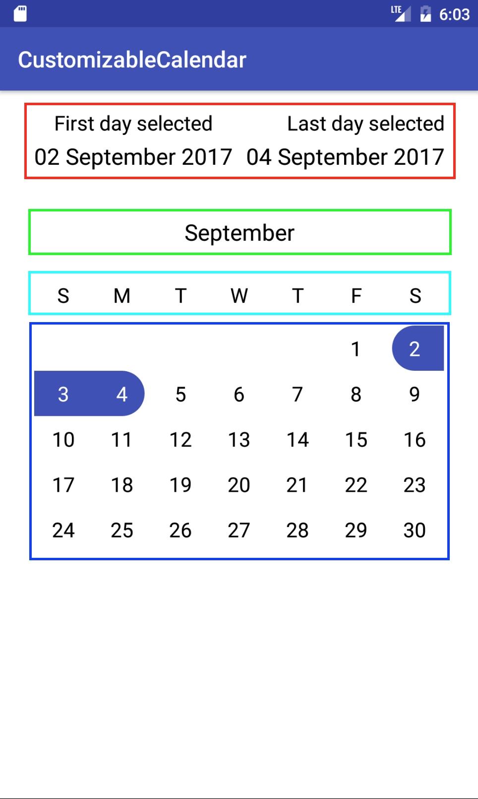 Android Custom Calendar With Events - Patel Prashant - Medium