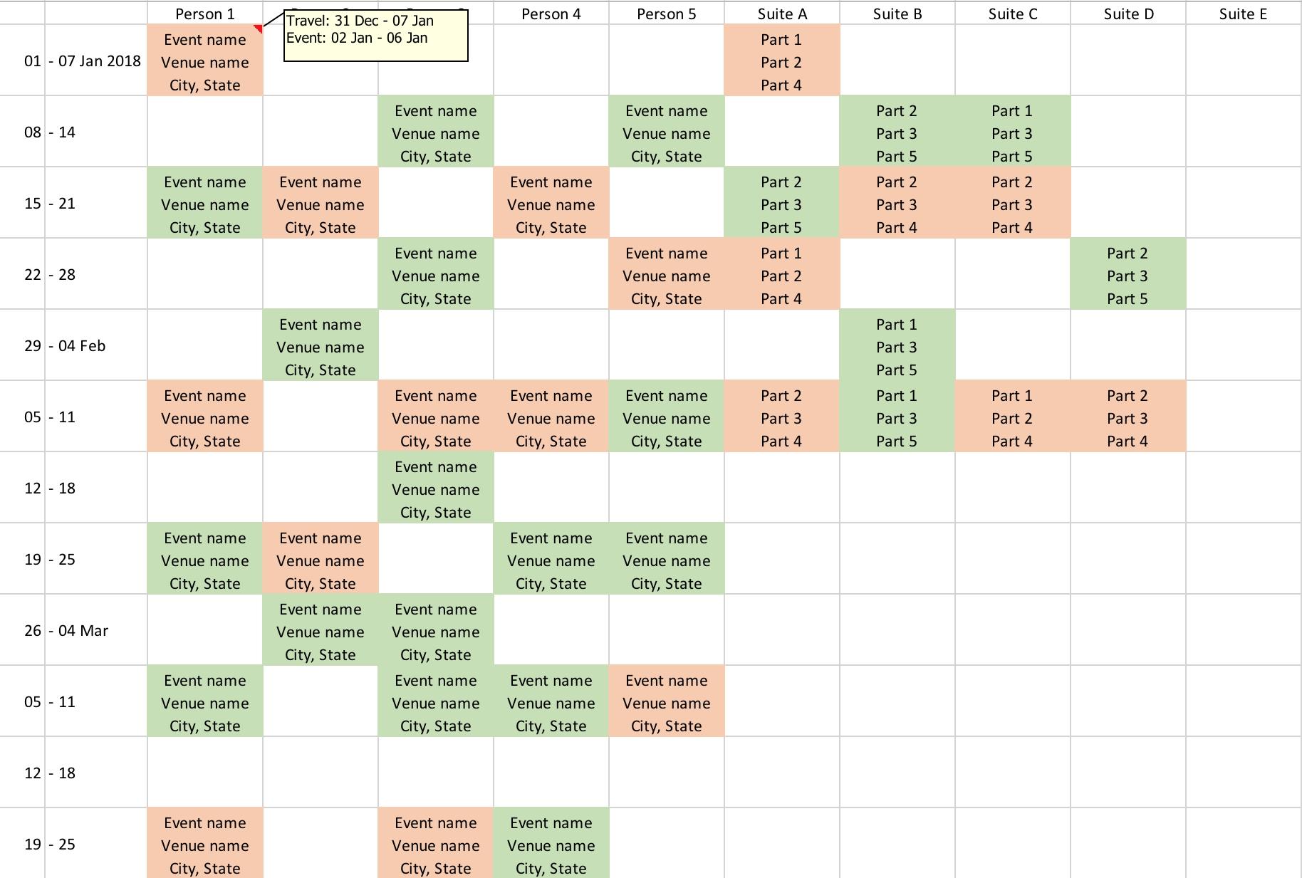 Anyone Come Across A Js Calendar That Can Show Custom