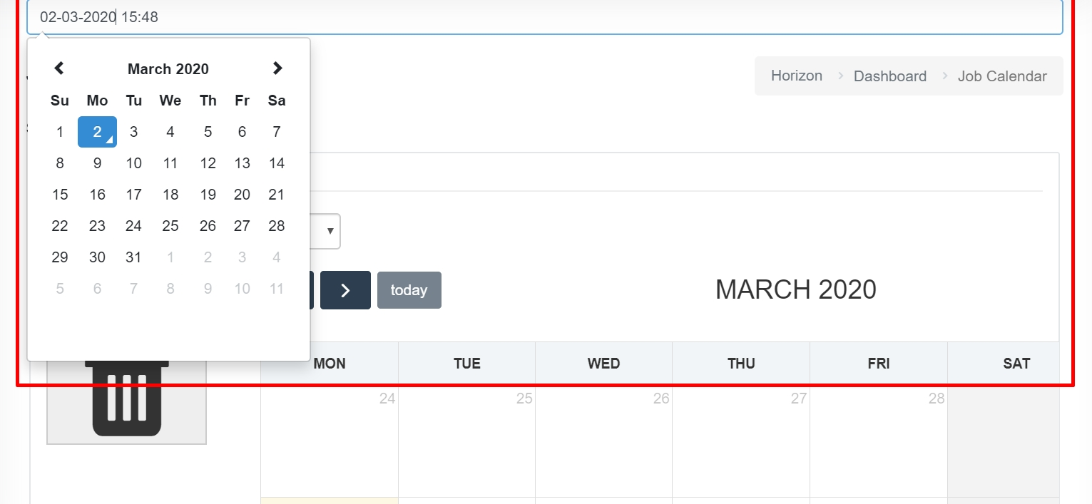 Bootstrap.min.css Calendar Not Working With Full Calendar
