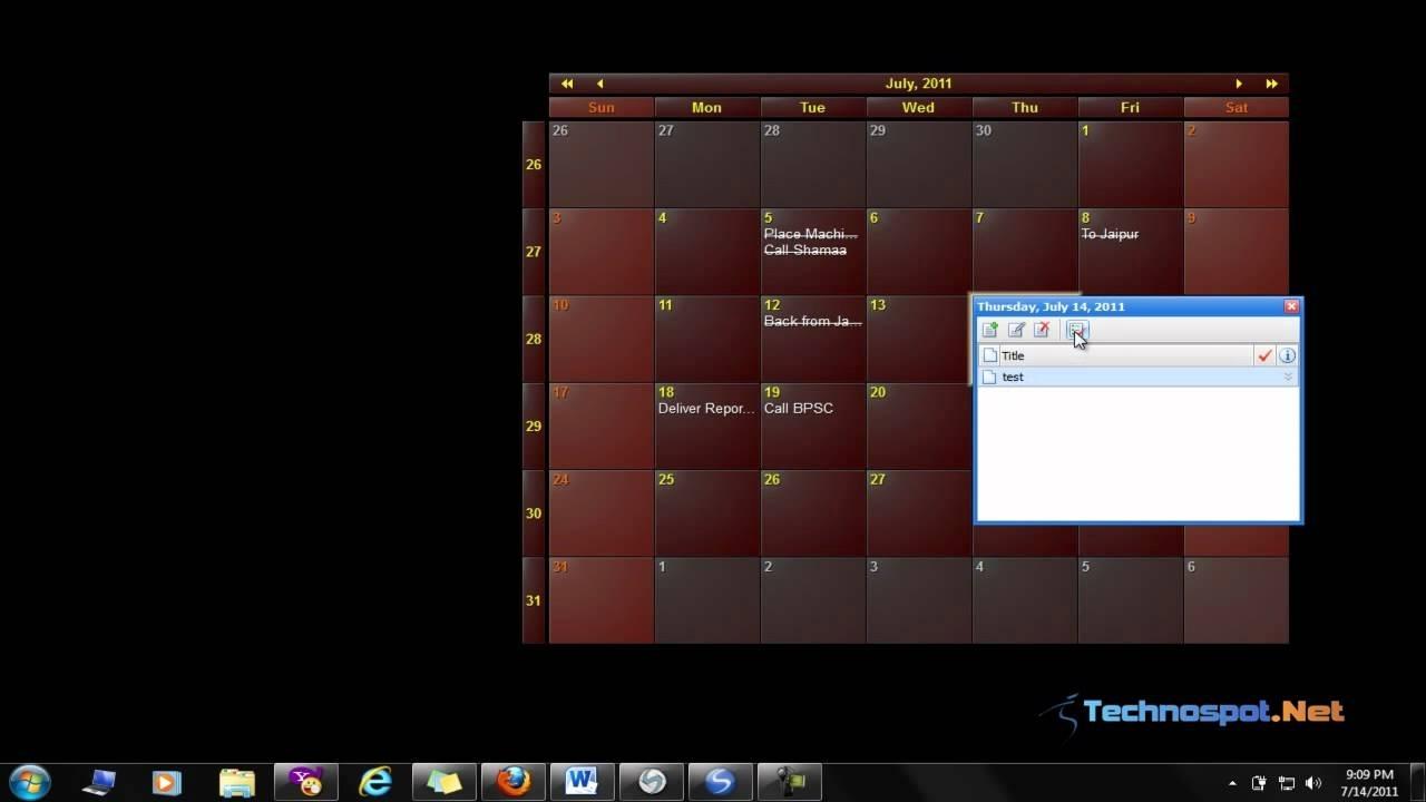 Calendar & Planner For Windows