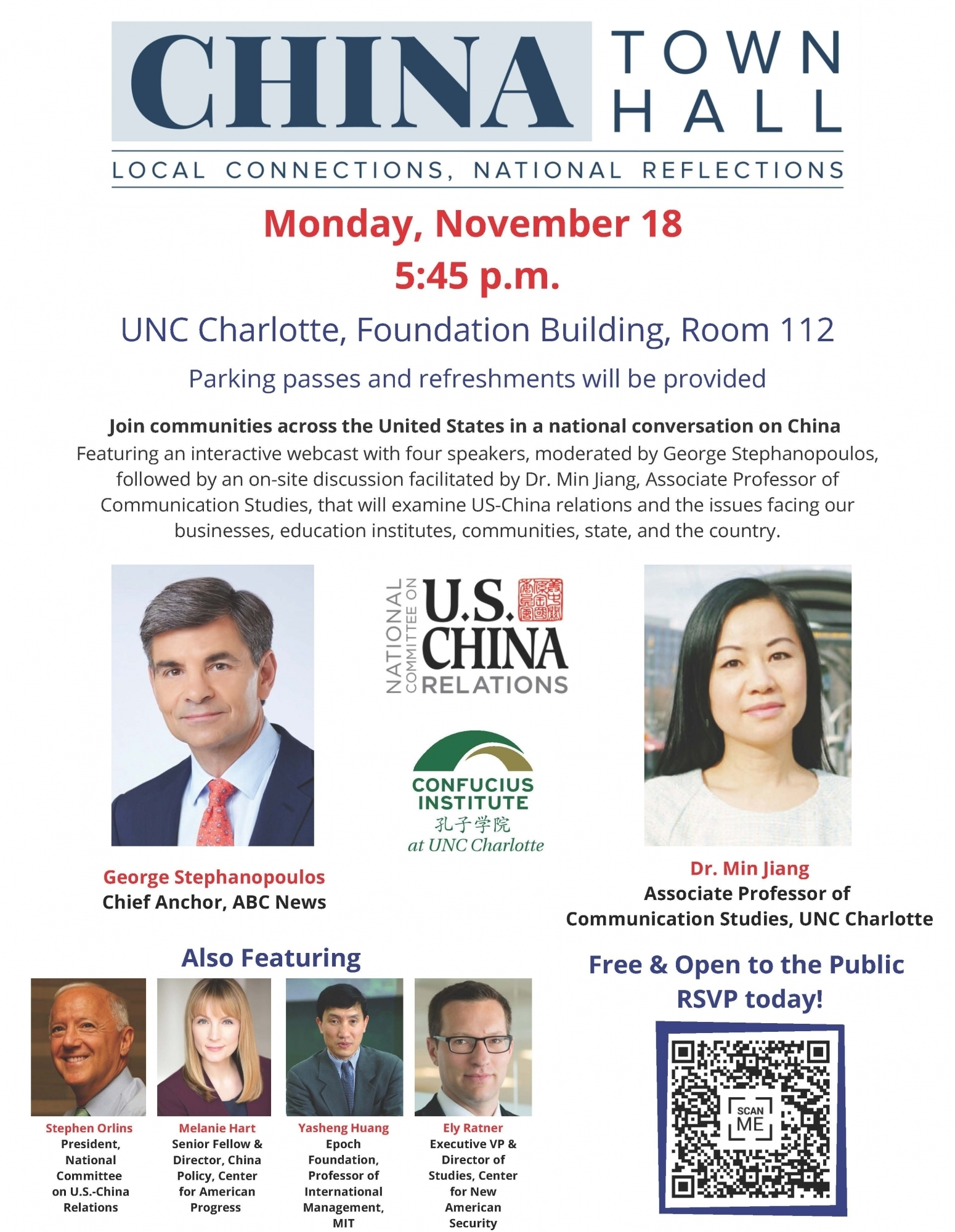 China Town Hall Meeting | Office Of International Programs