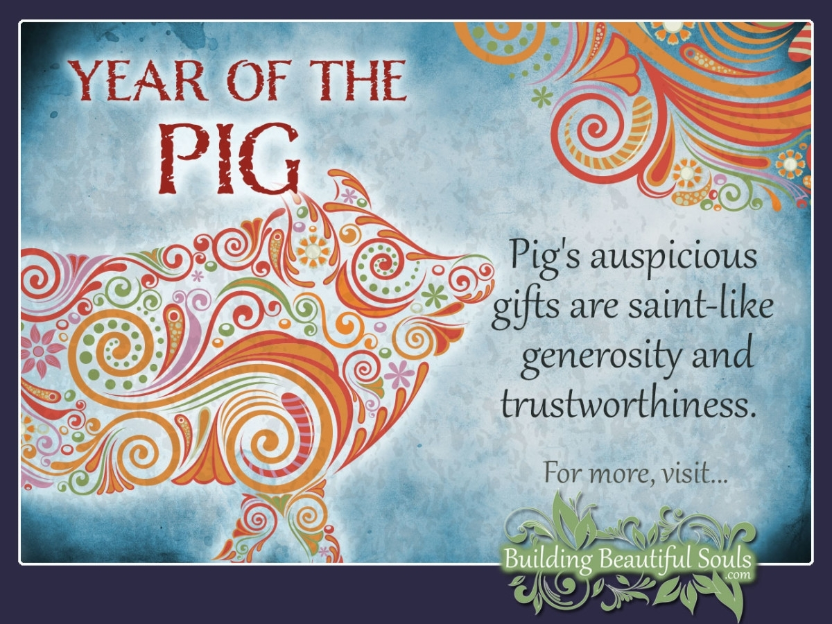 Chinese Zodiac Pig | Year Of The Pig | Chinese Zodiac Signs