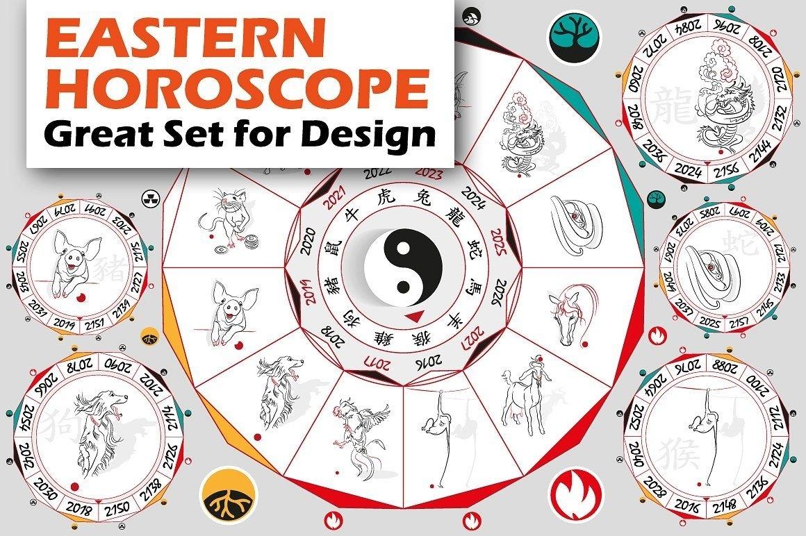 Chinese Zodiac Wheel With Signs | Zodiac Wheel, Zodiac