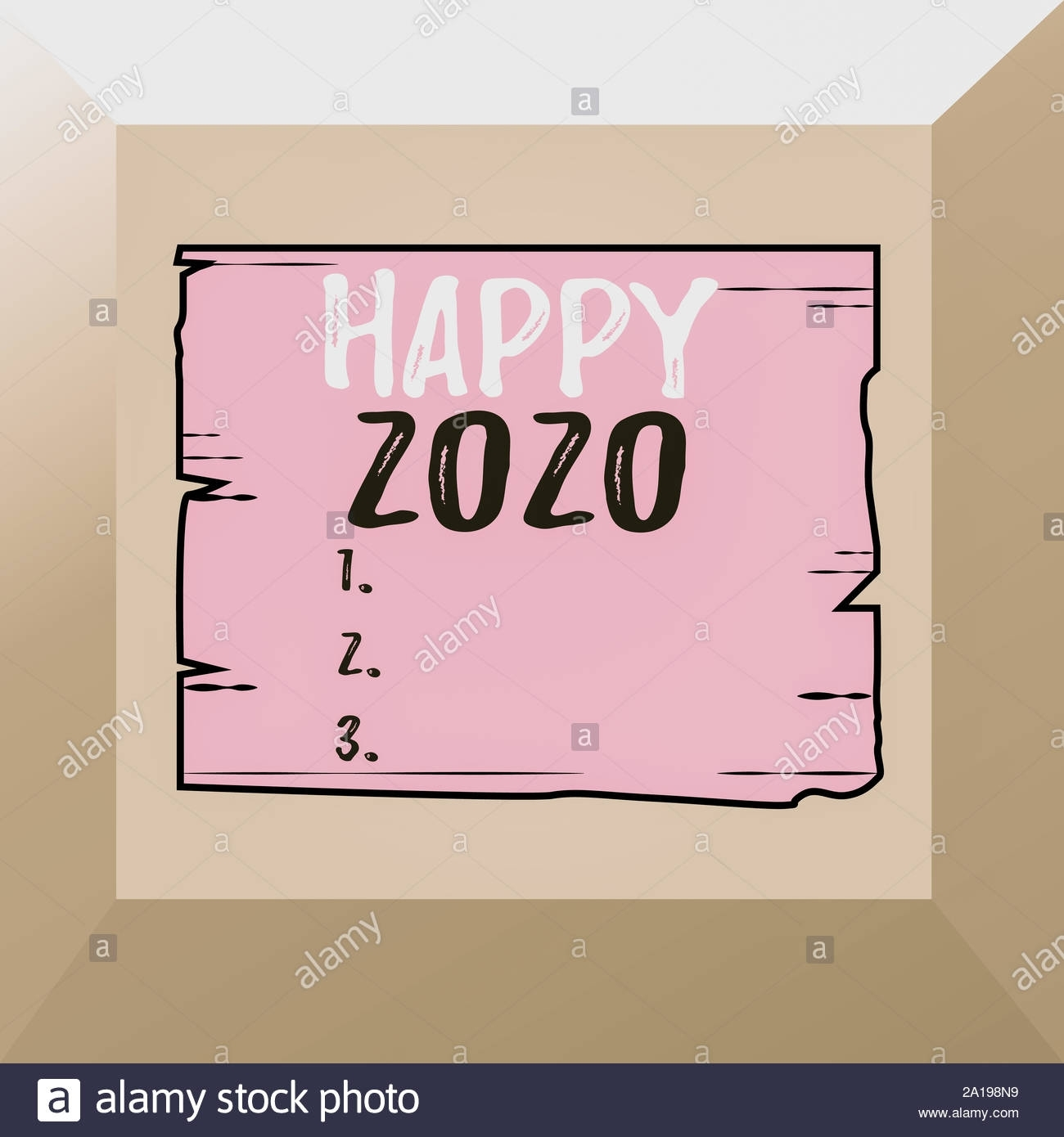 Conceptual Hand Writing Showing Happy 2020. Concept Meaning