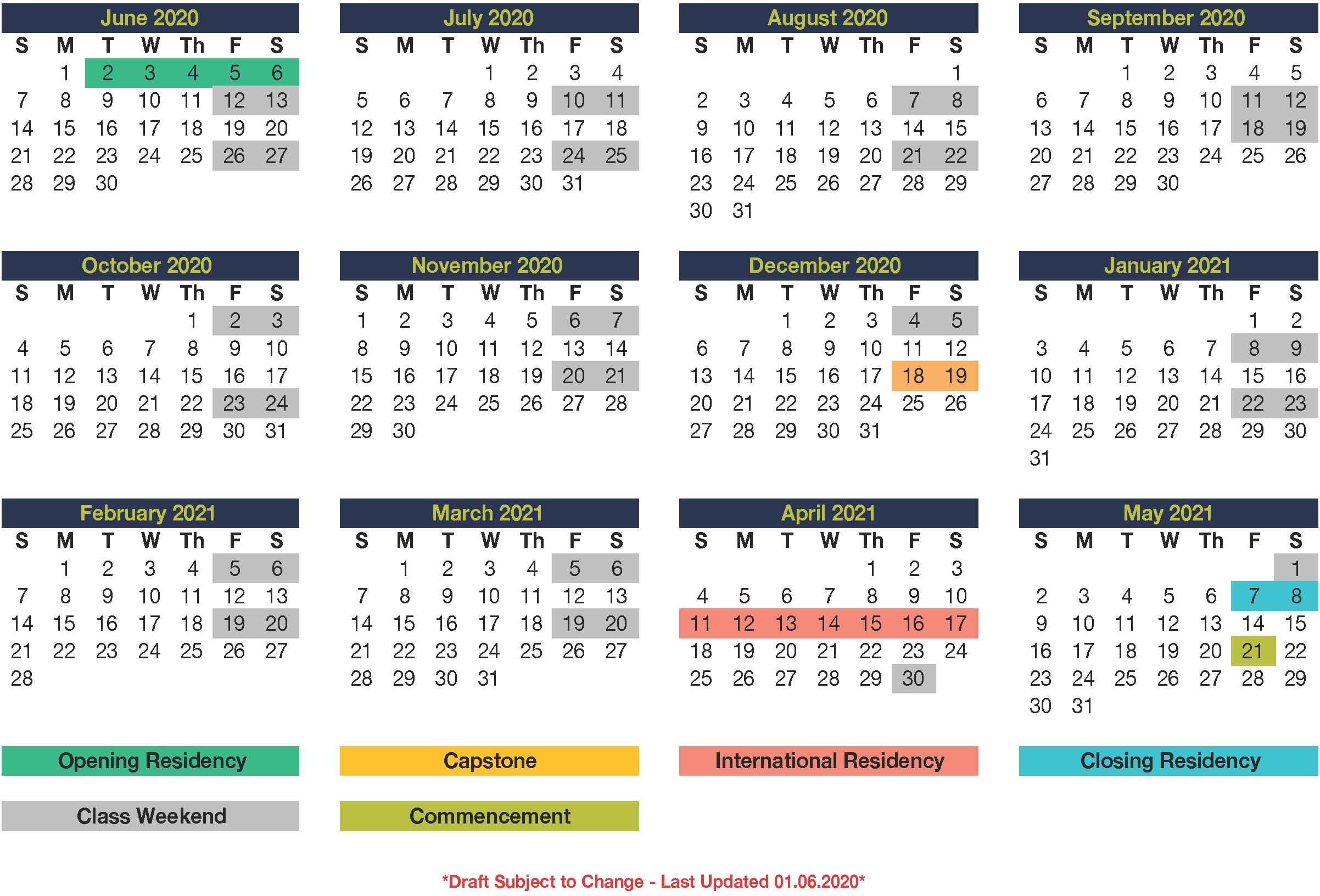 Eml-16-Program-Calendar-2020-2021 | Mcdonough School Of