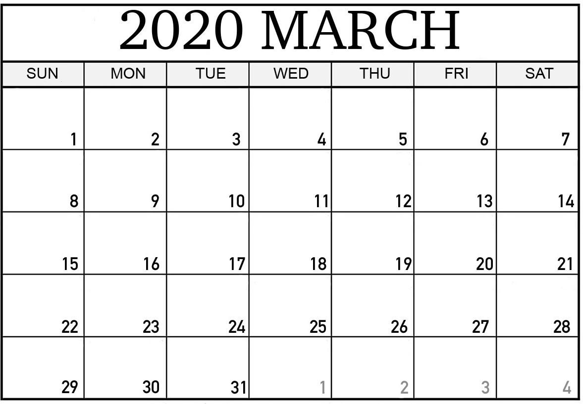 Print Calendar 2020 Nz