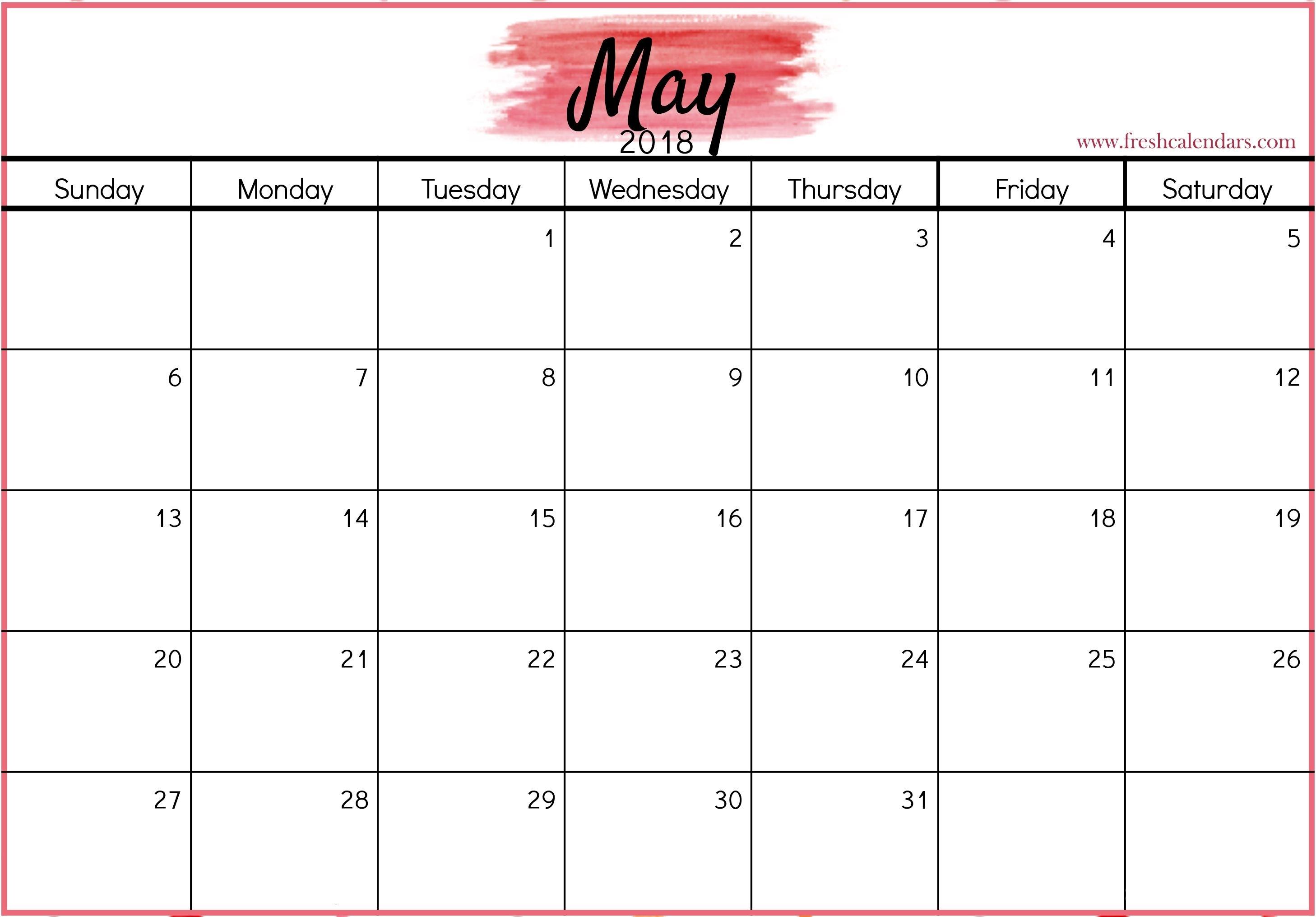 Free Printable 2020 Calendar | Blank Calendar Template
