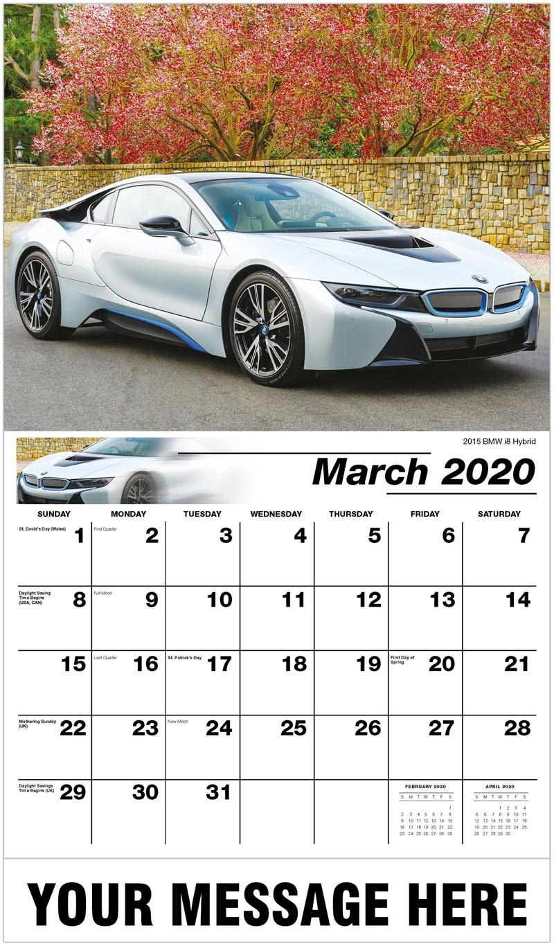 Galleria Exotic Car - 2020 Promotional Calendar