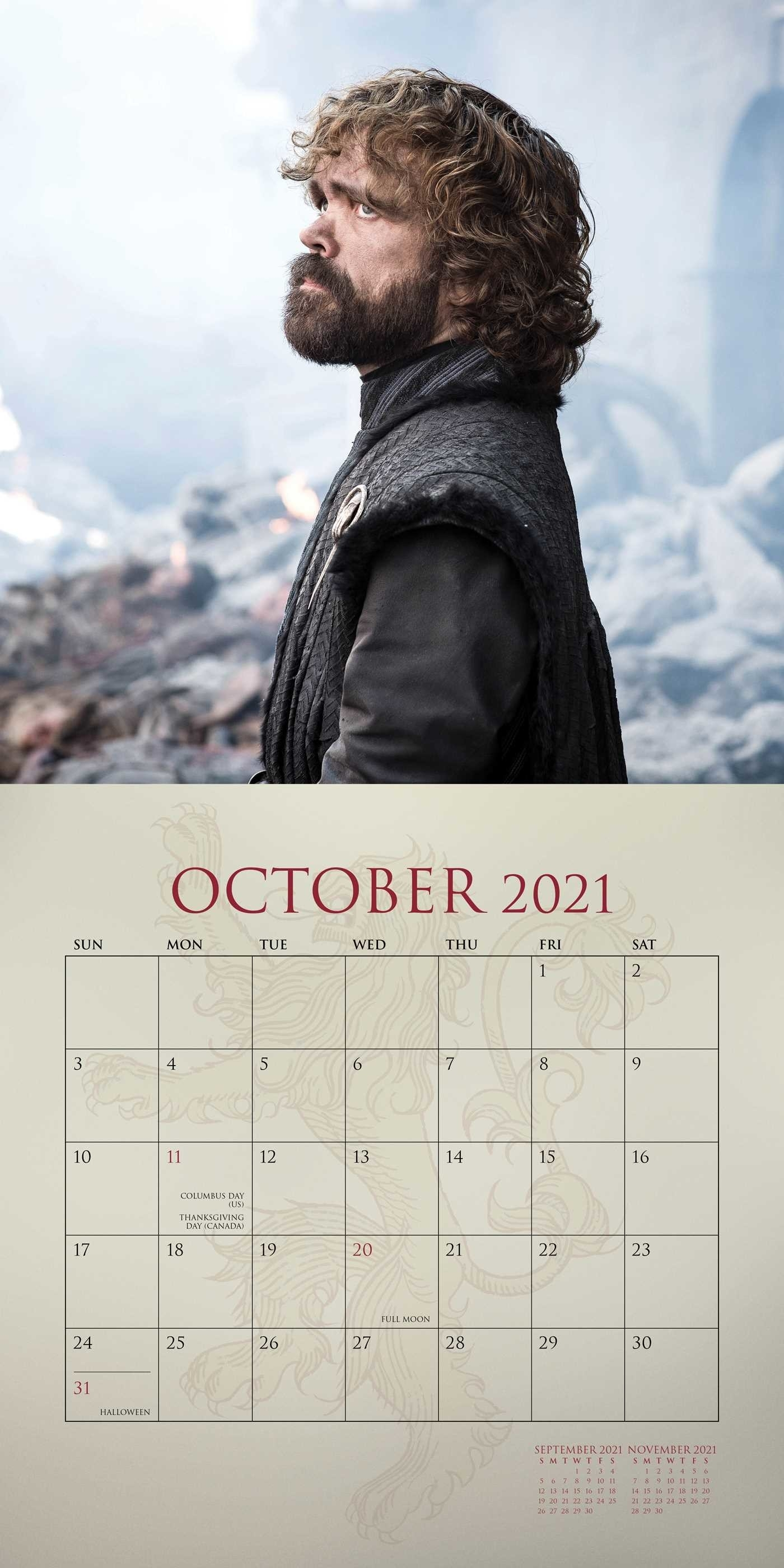 Game Of Thrones 2020-2021 16-Month Wall Calendar - Book