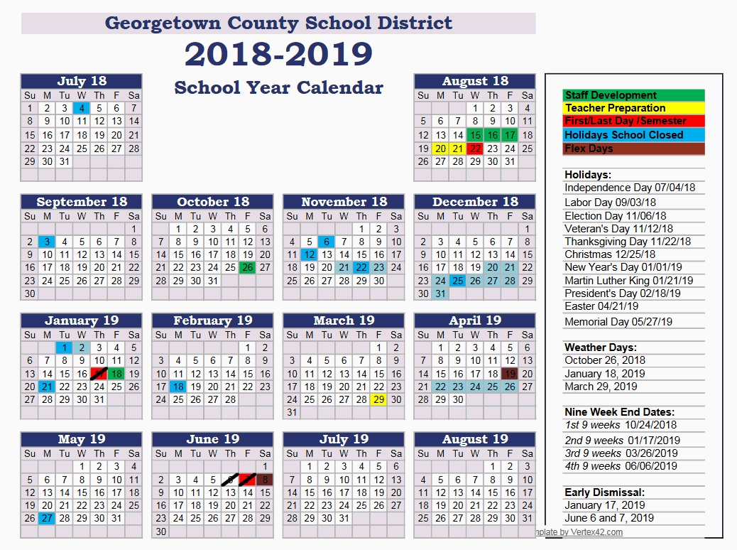 Georgetown County Students Head Back To School Aug. 22