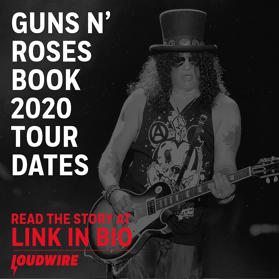 Guns N' Roses Announce 2020 Tour Dates
