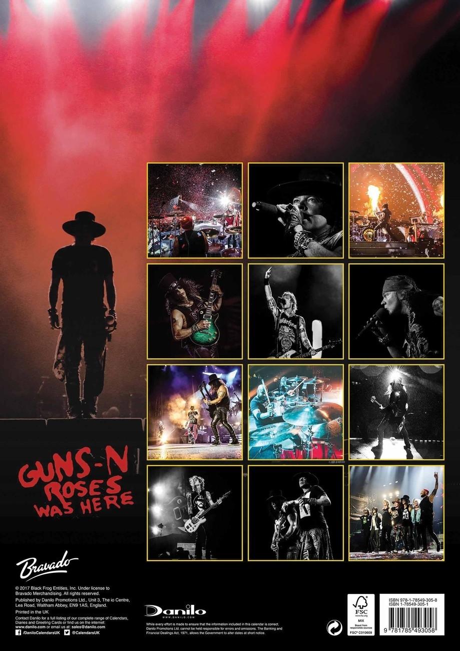 Guns N' Roses - Calendars 2021 On Ukposters/abposters