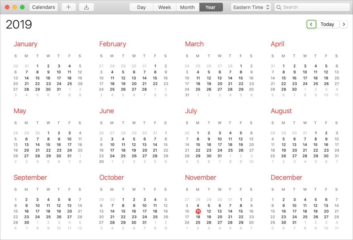 How To Print Or Save Your Calendar As A Pdf On Mac And Ios