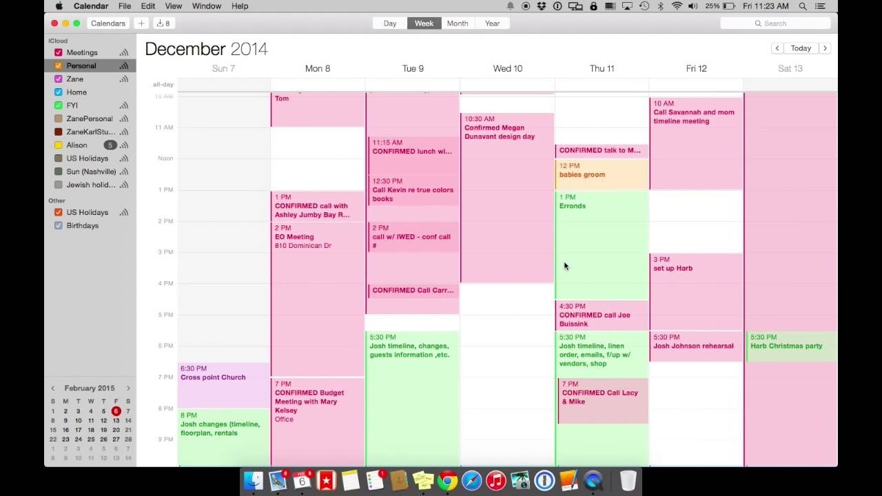 How To Use Ical On Your Macbook