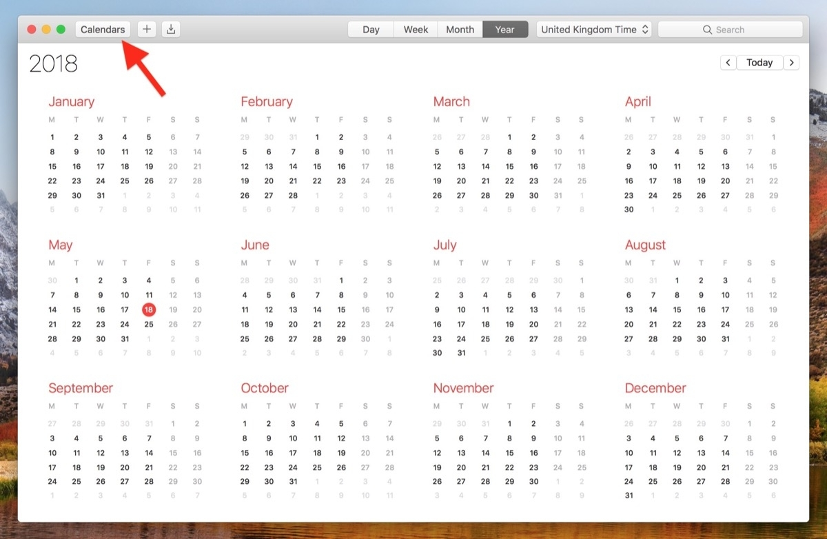 How To View All Events As A List In Your Mac's Calendar App
