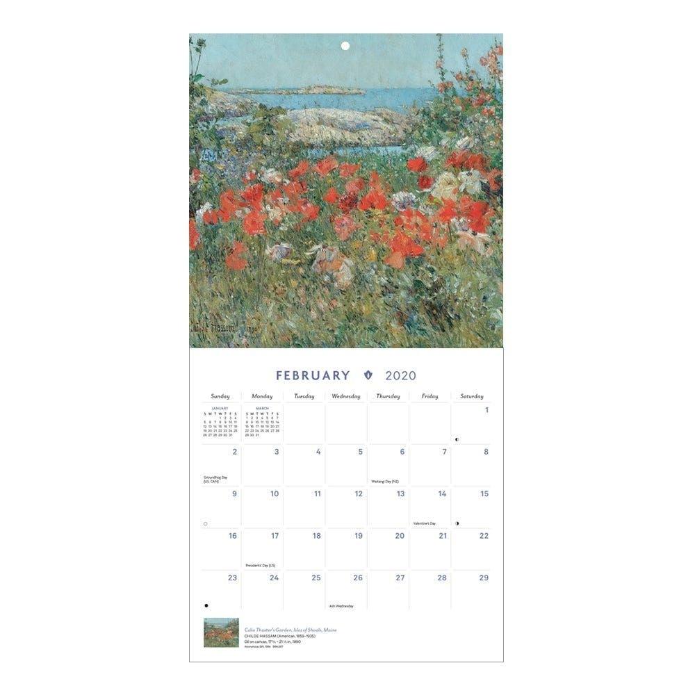 Impressionist Escapes Mini Wall Calendar 2020 | Wall