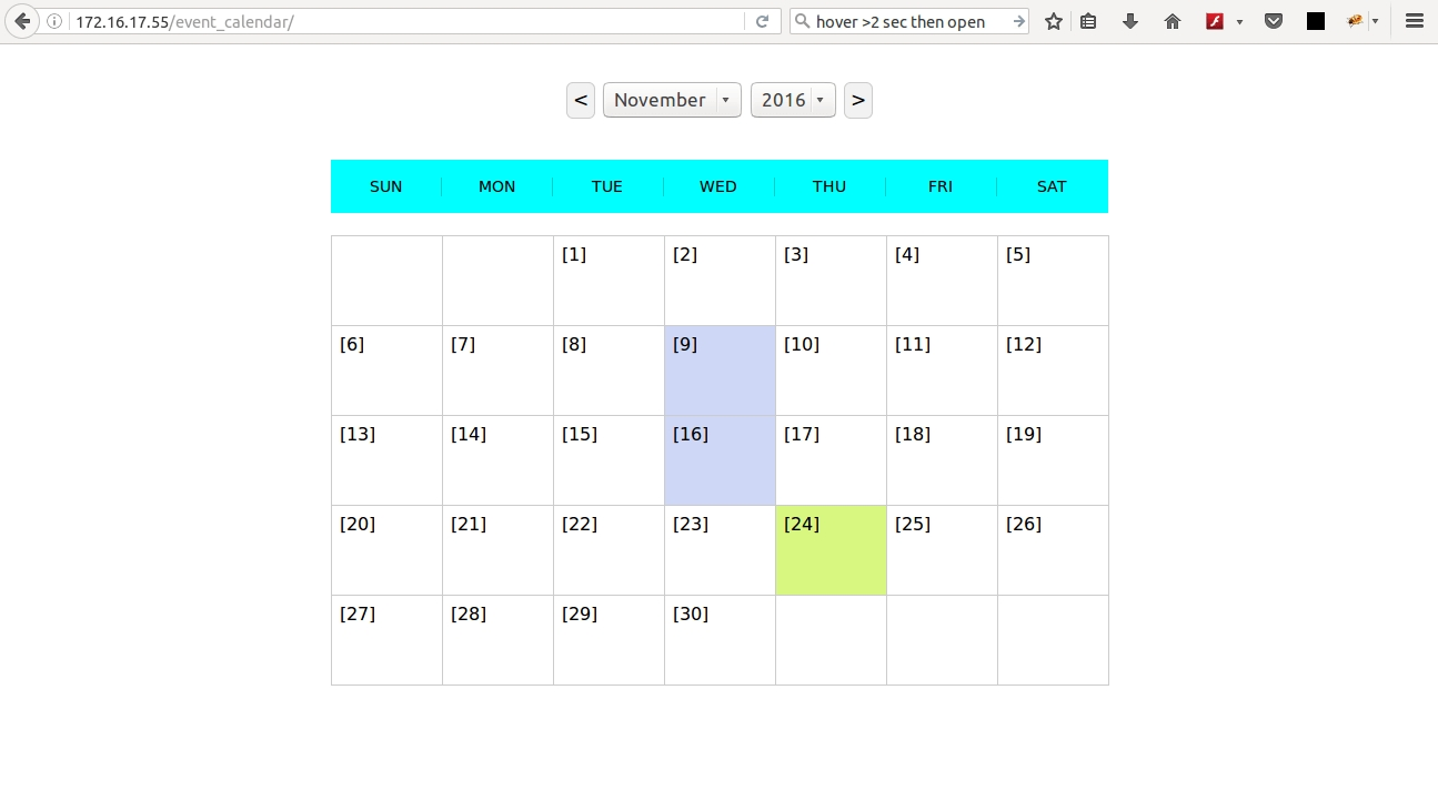 Introducing Php Event Calendar Using Jquery To Manage Events