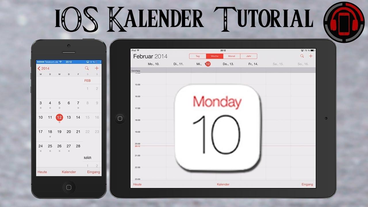 Ios 9 Kalender App Tutorial [Deutsch/german]