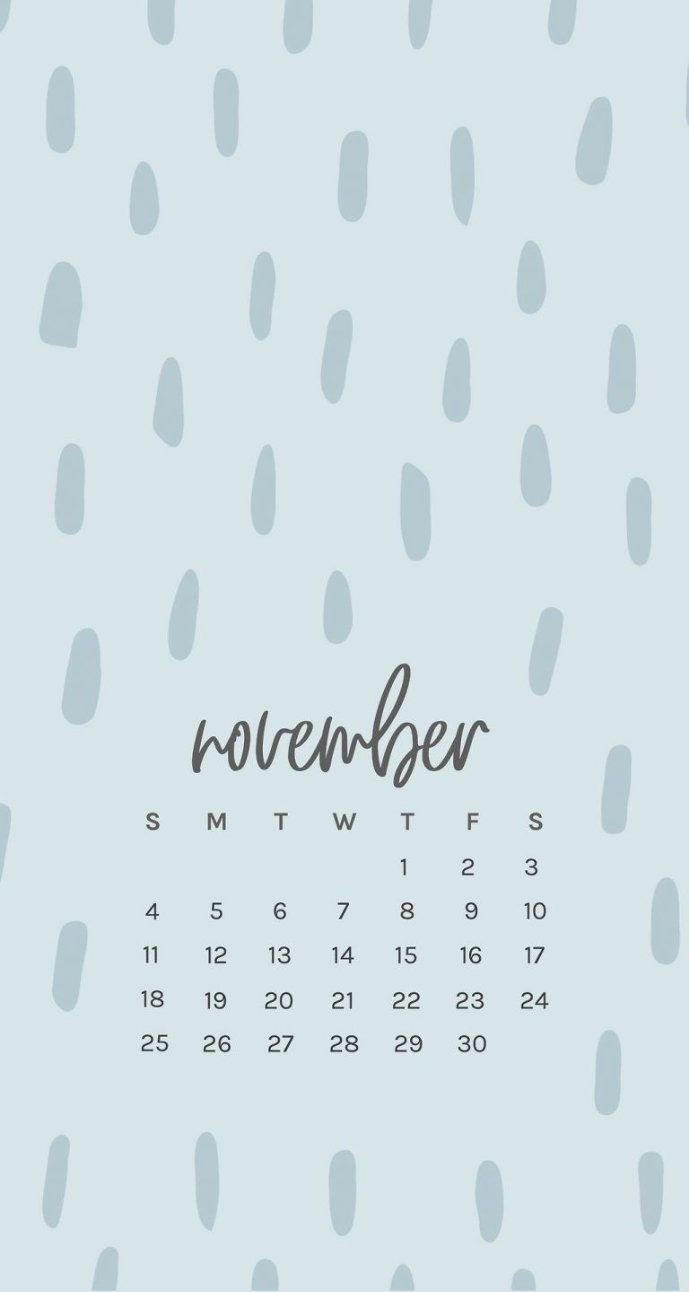 Iphone 6 Print Calendar
