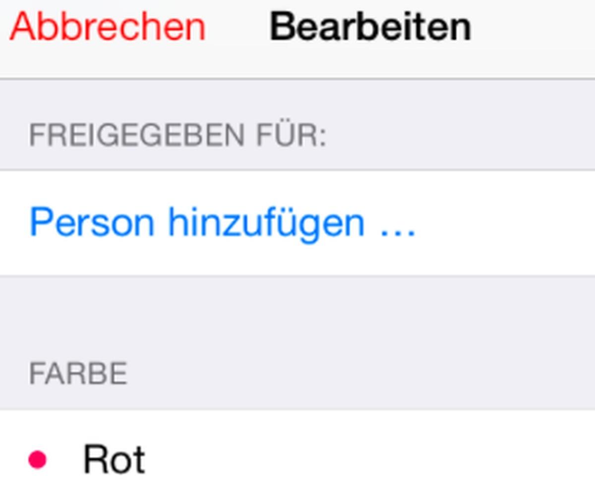 Iphone-Kalender Teilen Oder Zu Zweit Nutzen - Chip