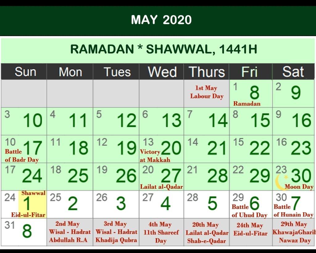 Islamic Calendar 2020 - Ramadan Calendar 2020 For Android