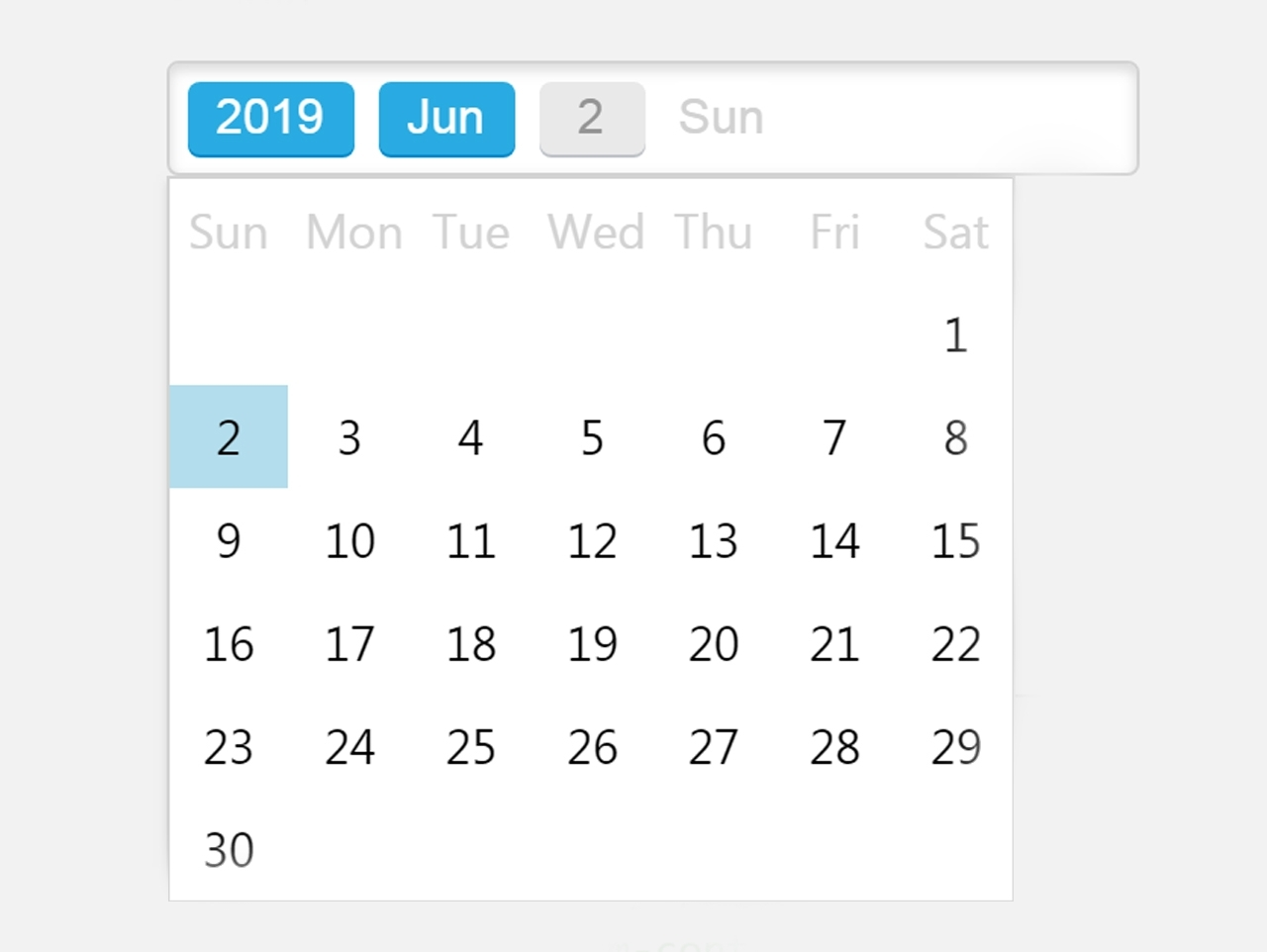 Jquery Datepicker For Bootstrap 4 - Wbn Datepicker — Codehim