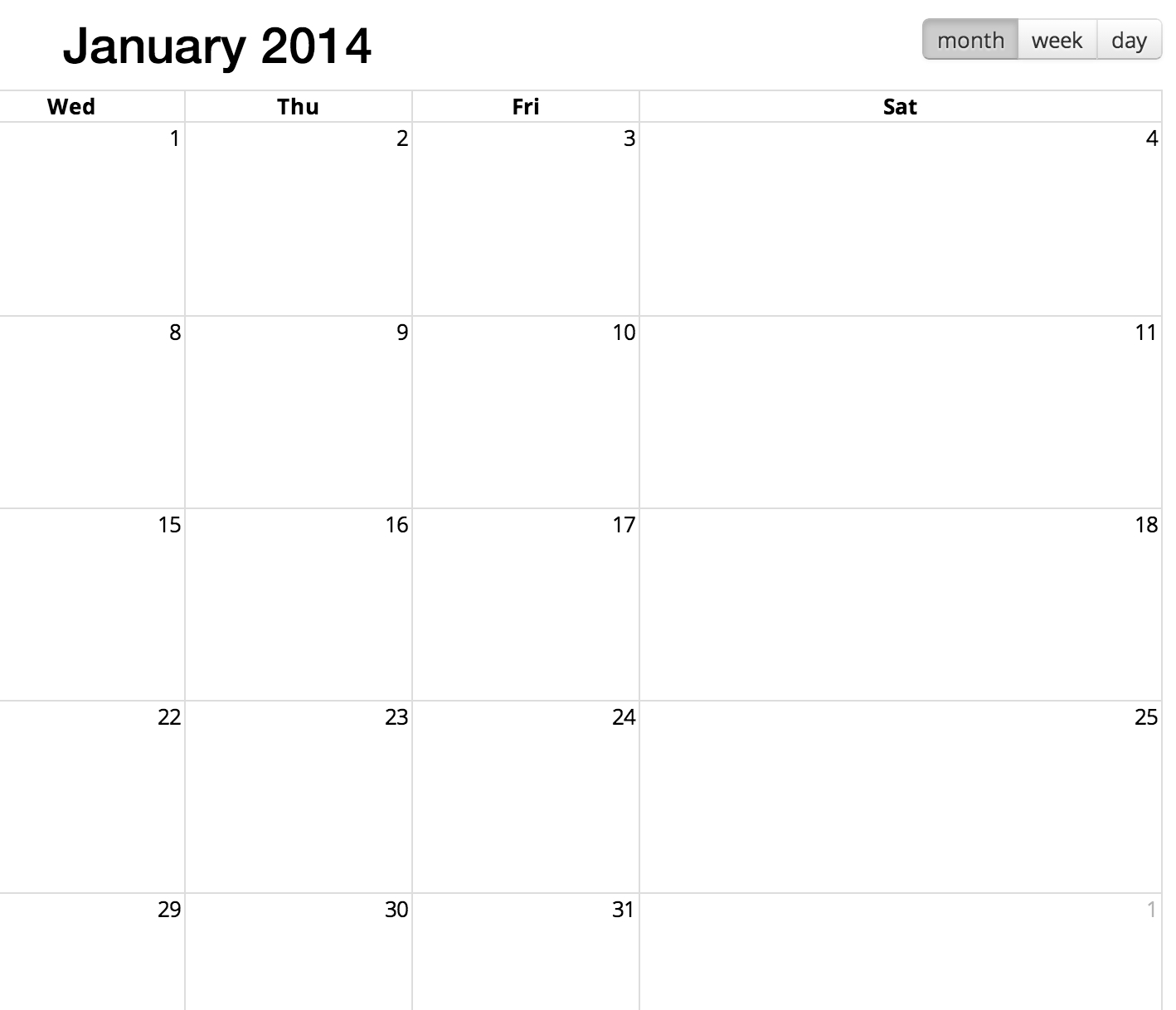 Jquery Fullcalendar - Can I Programmatically Resize The